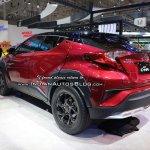 Toyota C-HR TRD rear quarter at GIIAS 2018