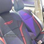 Toyota Vios TRD front seats GIIAS 2018