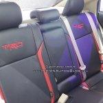 Toyota Vios TRD seats GIIAS 2018