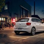 VW Polo Beats Edition rear
