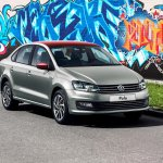 VW Polo Joy front three quarters