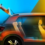 VW T-Cross rear seats teased