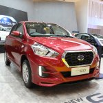 2018 Datsun Go Facelift Front Three Quarters At Gi