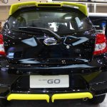 Datsun Go Live Black Rear At Giias 2018