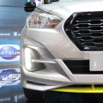 Datsun Go Live Led Drl At Giias 2018
