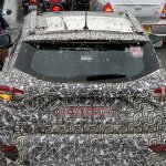 Mahindra S201 Sunroof Rear View Spy Image