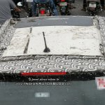 Mahindra S201 Sunroof Top View Spy Image