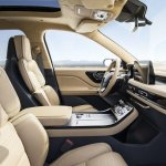 2019 Lincoln Aviator Concept Front Seats