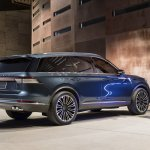 2019 Lincoln Aviator Concept Rear Three Quarters