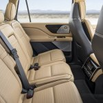 2019 Lincoln Aviator Concept Second Row Seats
