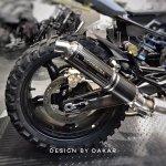 Bmw G310 Rock By Dk Design 6