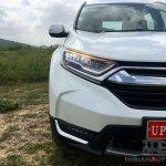 New Honda Cr V Images Front Half Section