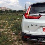 New Honda Cr V Images Rear Half Section