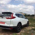 New Honda Cr V Images Rear Three Quarter
