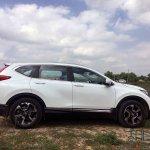 New Honda Cr V Images Side Profile 2