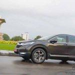 2018 Honda Cr V Review Images Side Profile Action