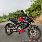 Bajaj Pulsar Ns160 Review Front Right Quarter 2