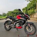 Bajaj Pulsar Ns160 Review Front Right Quarter 2
