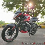 Bajaj Pulsar Ns160 Review Left Front Quarter
