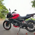 Bajaj Pulsar Ns160 Review Left Side Profile 2