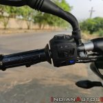 Bajaj Pulsar Ns160 Review Left Side Switch Gear