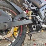 Bajaj Pulsar Ns160 Review Rear Disc And Under Bell