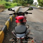 Bajaj Pulsar Ns160 Review Rear Profile