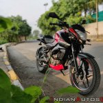 Bajaj Pulsar Ns160 Review Right Front Quarter