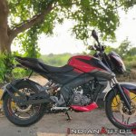 Bajaj Pulsar Ns160 Review Right Side Profile