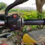 Bajaj Pulsar Ns160 Review Right Side Switch Gear