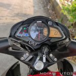 Bajaj Pulsar Ns160 Review Speedometer Instrument C