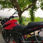Bajaj Pulsar Ns160 Review Split Seats And Fuel Tan
