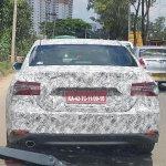 2019 Toyota Camry Rear Spy Shot India