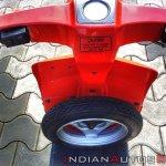 Bajaj Sunny Restored Spare Tyre