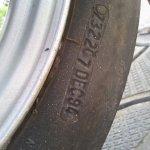 Bajaj Sunny Restored Tyre