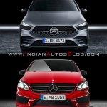 2019 Mercedes B Class Vs 2015 Mercedes B Class Fro
