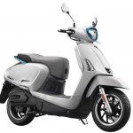 Kymco Like 110 Ev Front Quarter Press Image