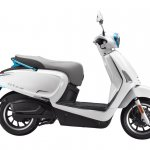 Kymco Like 110 Ev Side Profile Press Image