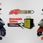 Okinawa Ridge Launched Swappable Battery