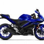 2019 Yamaha R3 Images Side Profile Blue Official I