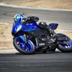 2019 Yamaha R3 Images Side Profile Yamaha Blue Act