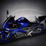 2019 Yamaha R3 Images Top View Blue Official Image