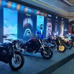 Kinetic Motoroyale India Launch 2018 Side