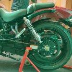 Hyosung Aquila Pro Rear Wheel