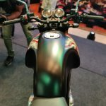 Norton Commando Limited Edition Fuel Tank Tpp View