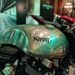Norton Dominator Fuel Tank