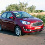 2018 Ford Aspire Facelift Review Action Image Fron