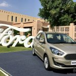 2018 Ford Aspire Facelift Review Image Front Three