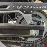 Suzuki V Strom 650 Xt Details Aluminium Chain Guar