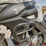 Suzuki V Strom 650 Xt Details Crash Guard Right Si